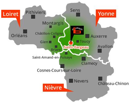 situation-geographique-entreprise-baudot-bat-saint-fargeau-yonne-89