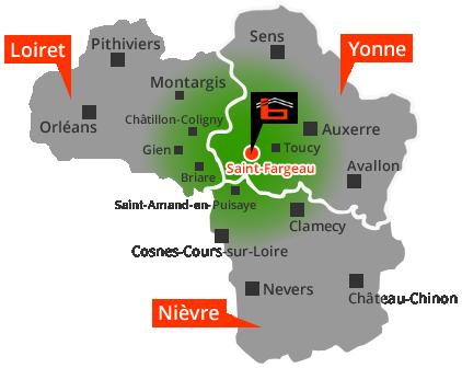 baudot-bat-saint-fargeau-situation-geographique-yonne-89-loiret-nievre
